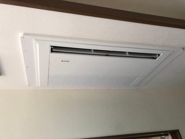 京都市東山区 業務用エアコン更新工事 (住宅)