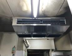 京都市南区 業務用エアコン 入れ替え工事 (飲食店様)